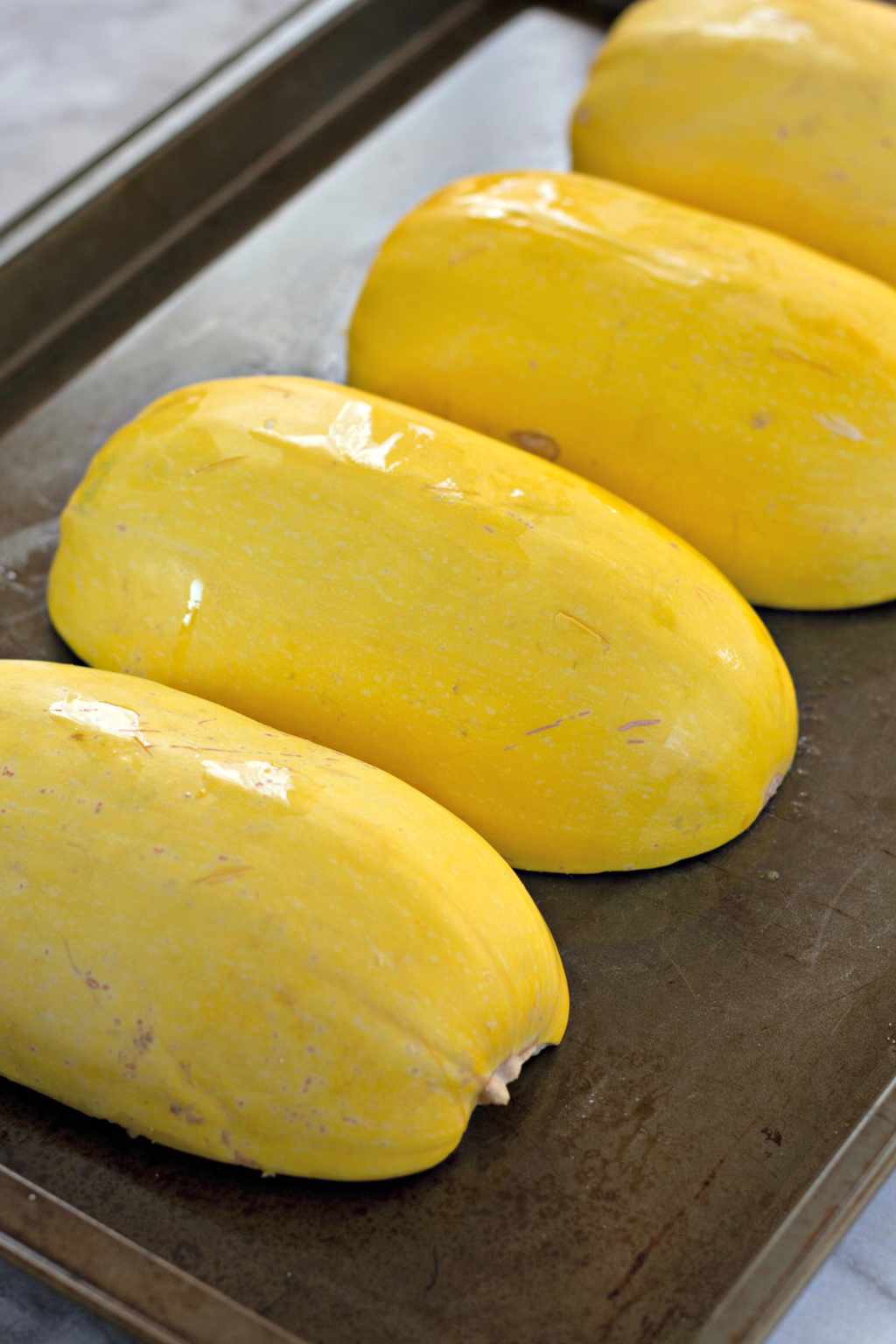 safely cut squash in half