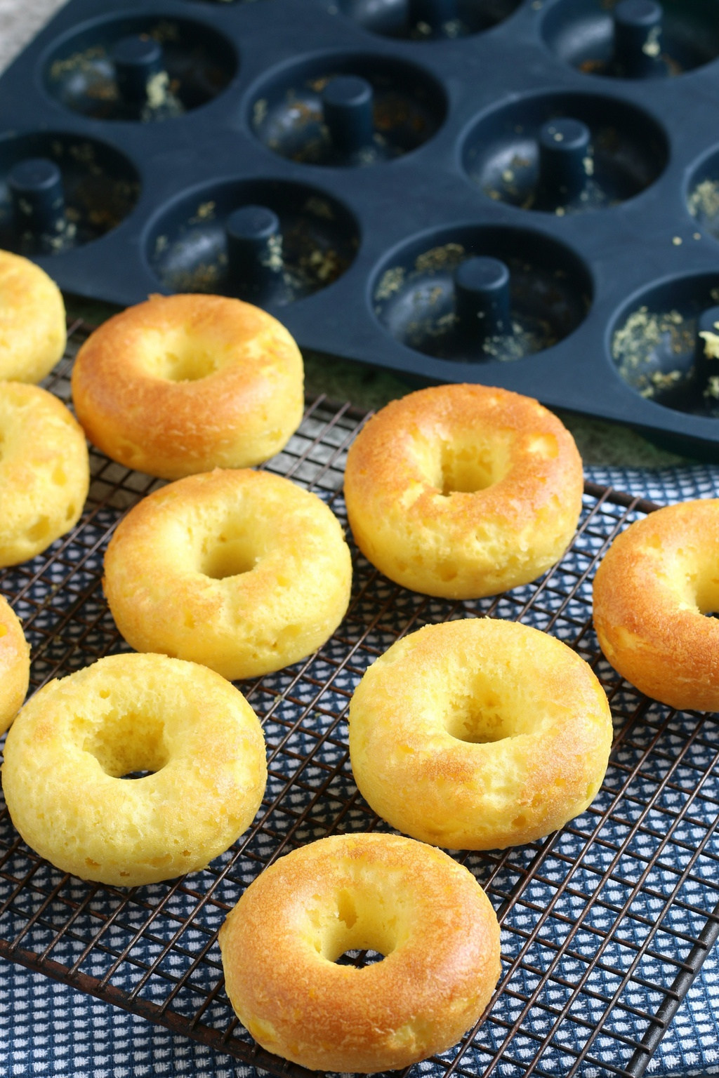 homemade baked donuts recipe
