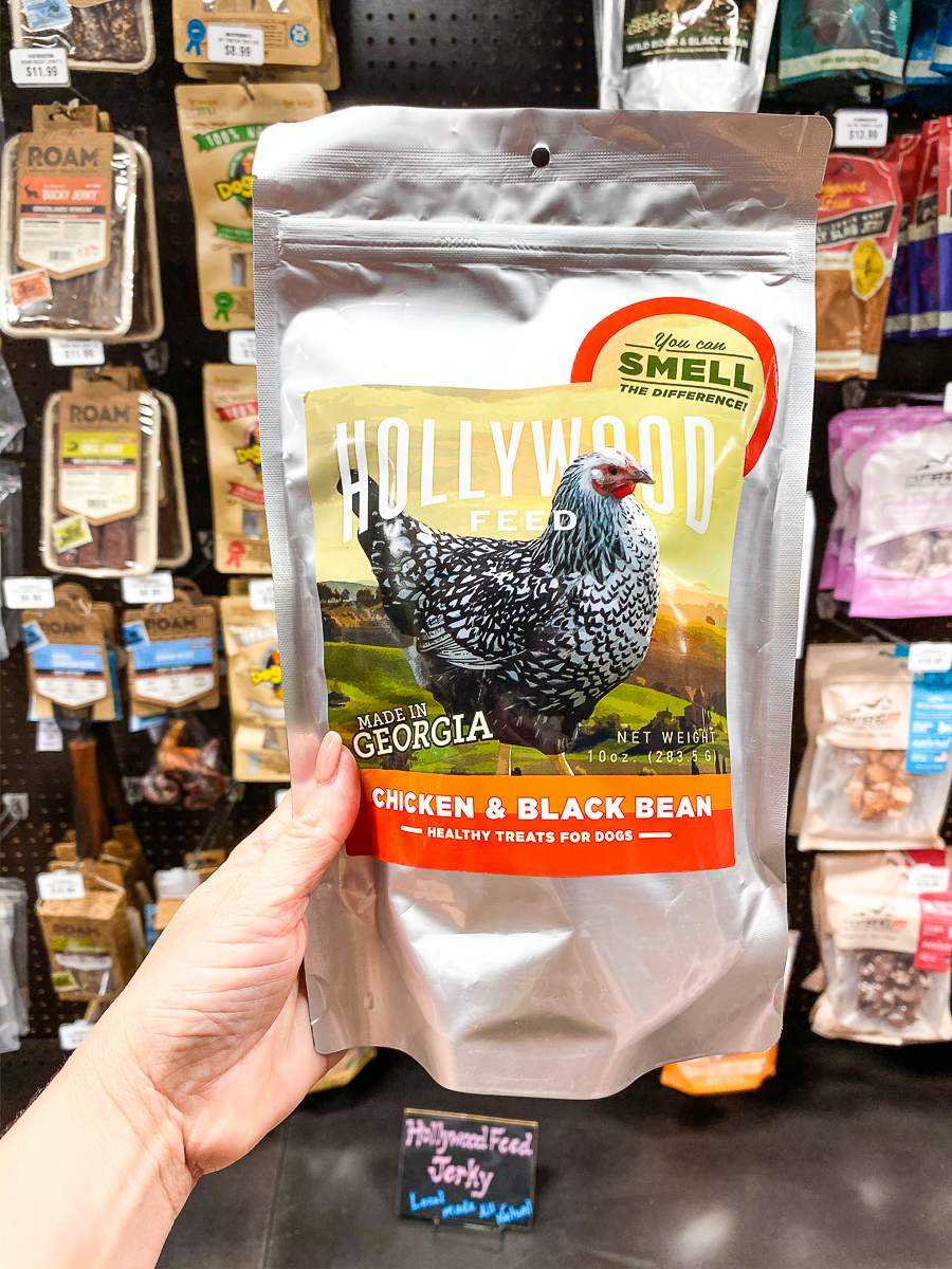 Hollywood Feed Georgia Jerky - Chicken and Black Bean