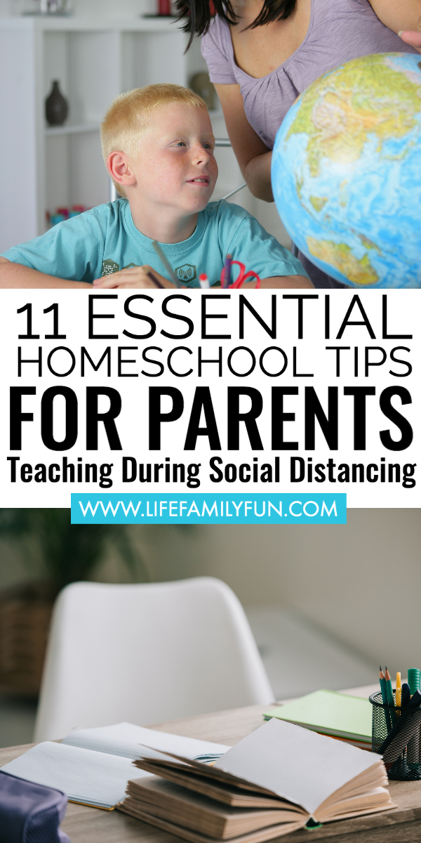 homeschooling tips for all parents