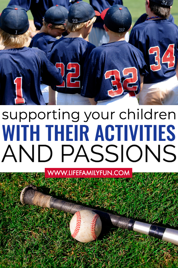 Support Children's Activities and Passions