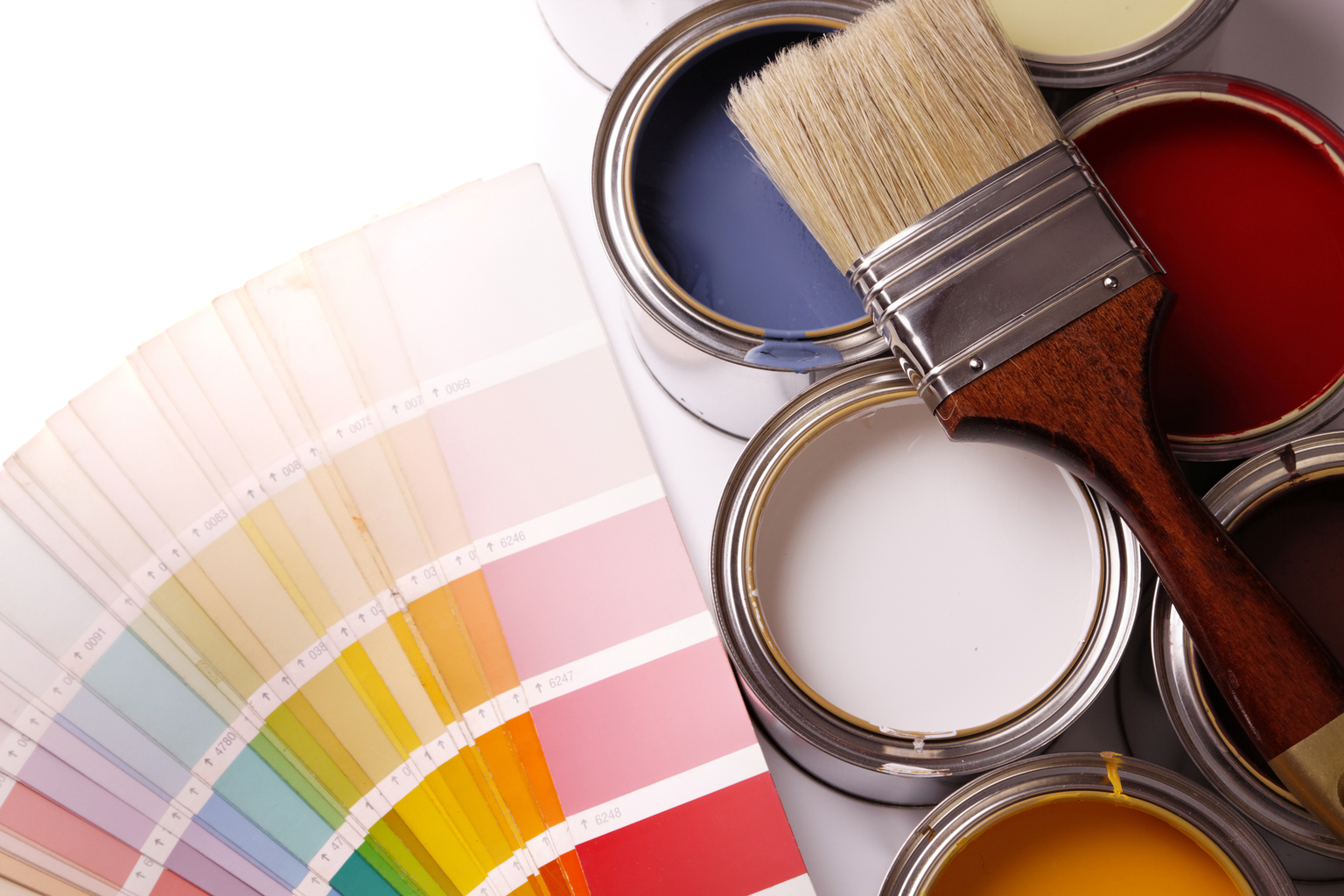 Paint color choices in your home