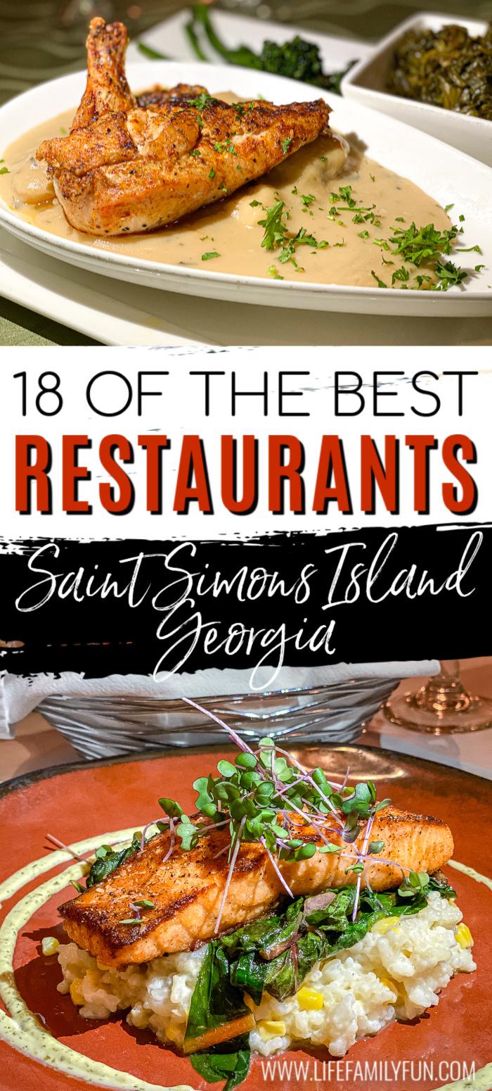 best restaurants in saint simons island