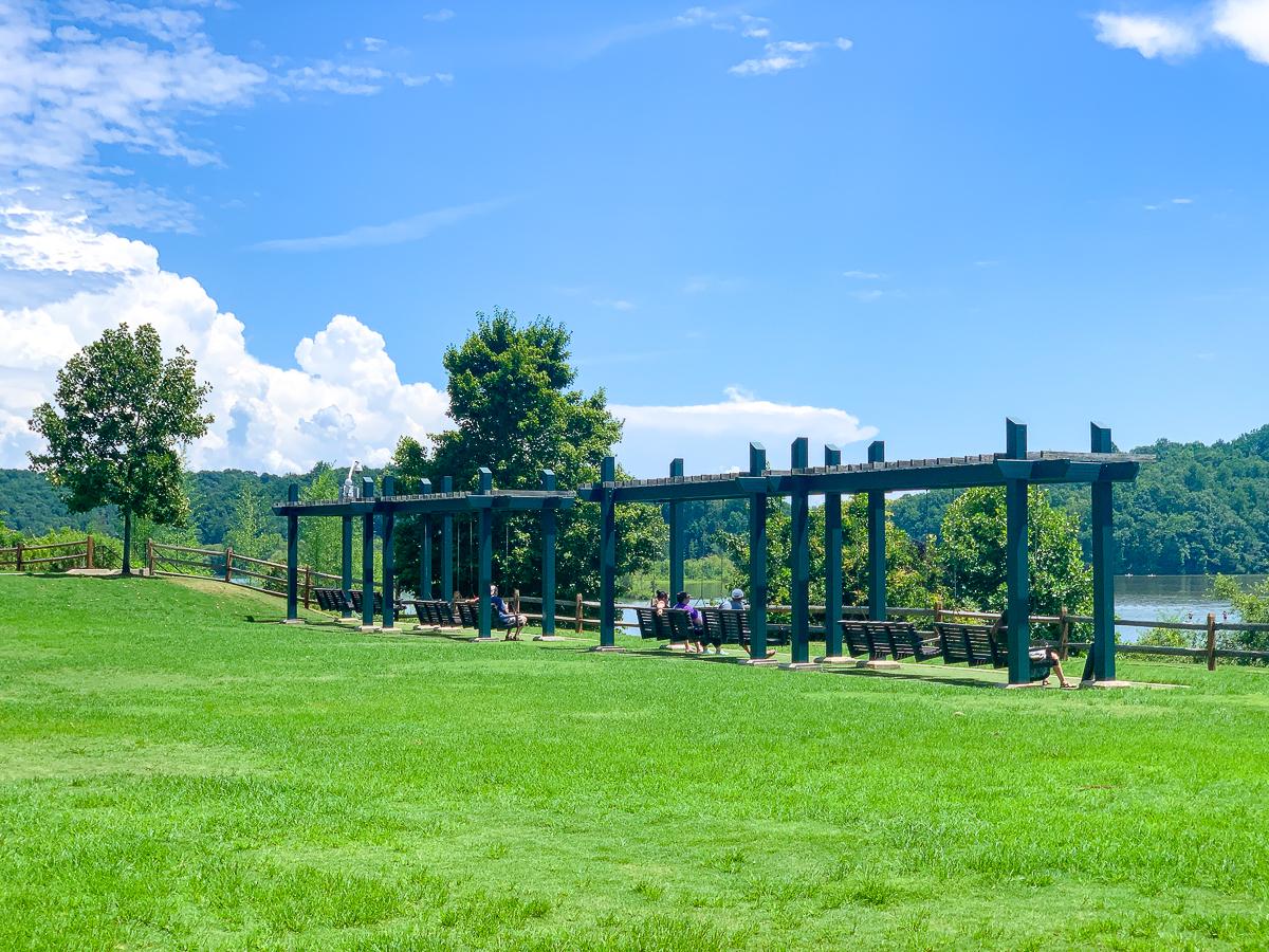 morgan falls overlook park