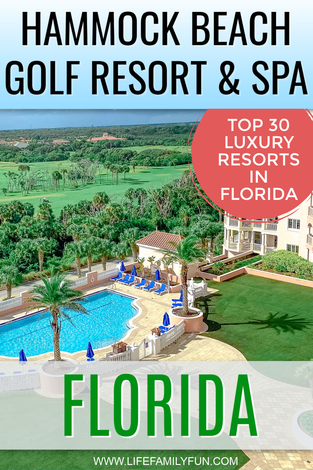 Hammock Beach Golf Resort - Pin for Pinterest