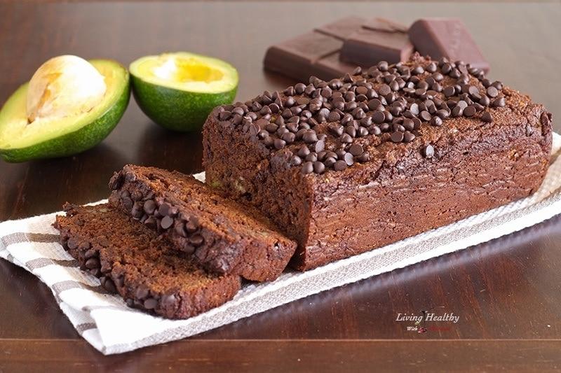Avocado Chocolate Sweet Bread