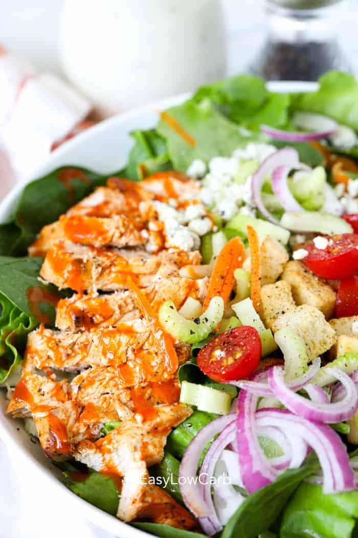 keto chicken salad Buffalo Chicken Salad Recipe