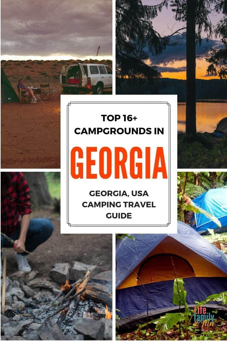 If you are looking for the best place to camp in Georgia, look no further than this great list of the top 10 campgrounds in Georgia.