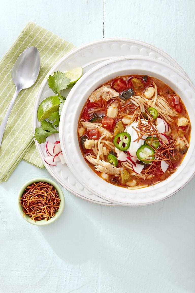 chicken soup Chicken Posole