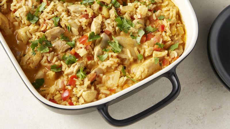 Chicken Tikki Masala Casserole