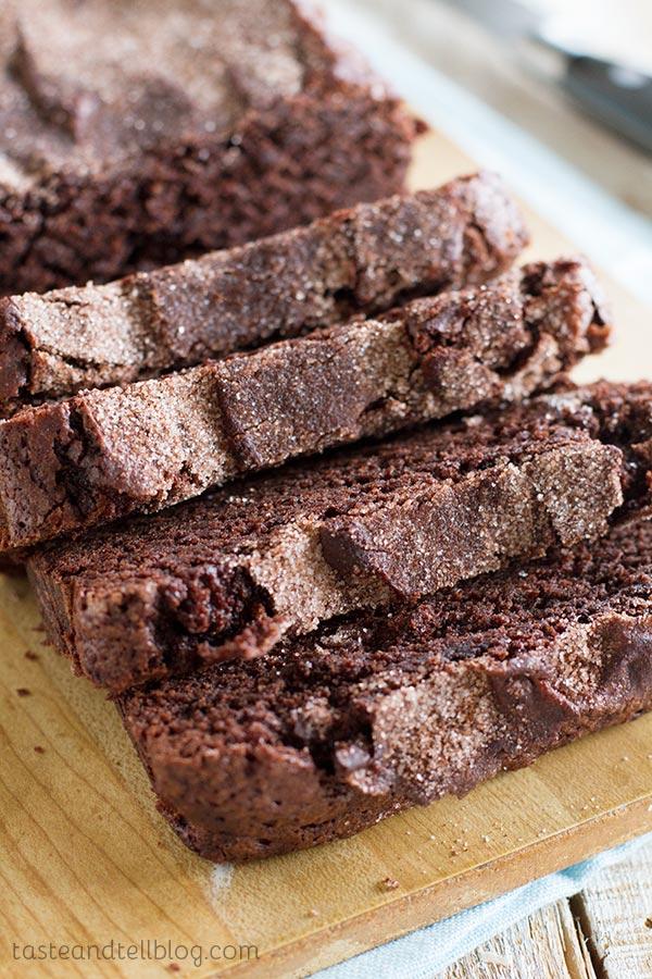 Chocolate and Cinnamon Bread