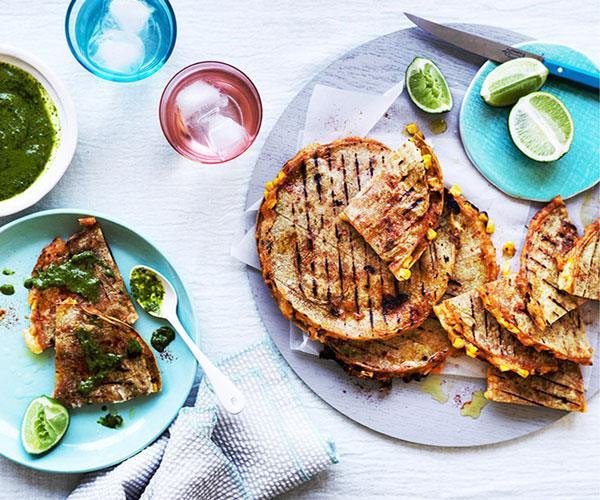 Corn Tortilla Quesadilla Recipes