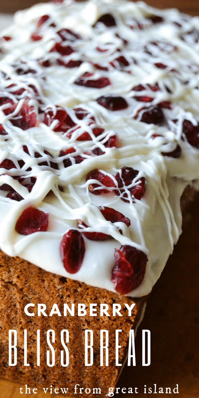 Cranberry Sweet Bread