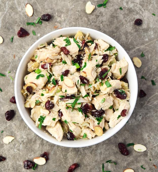 keto chicken salad Cranberry Chicken Salad