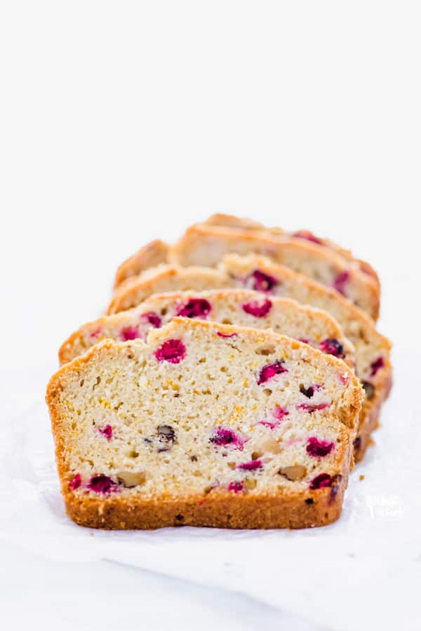 Cranberry Orange Fruitcake Sweet Bread