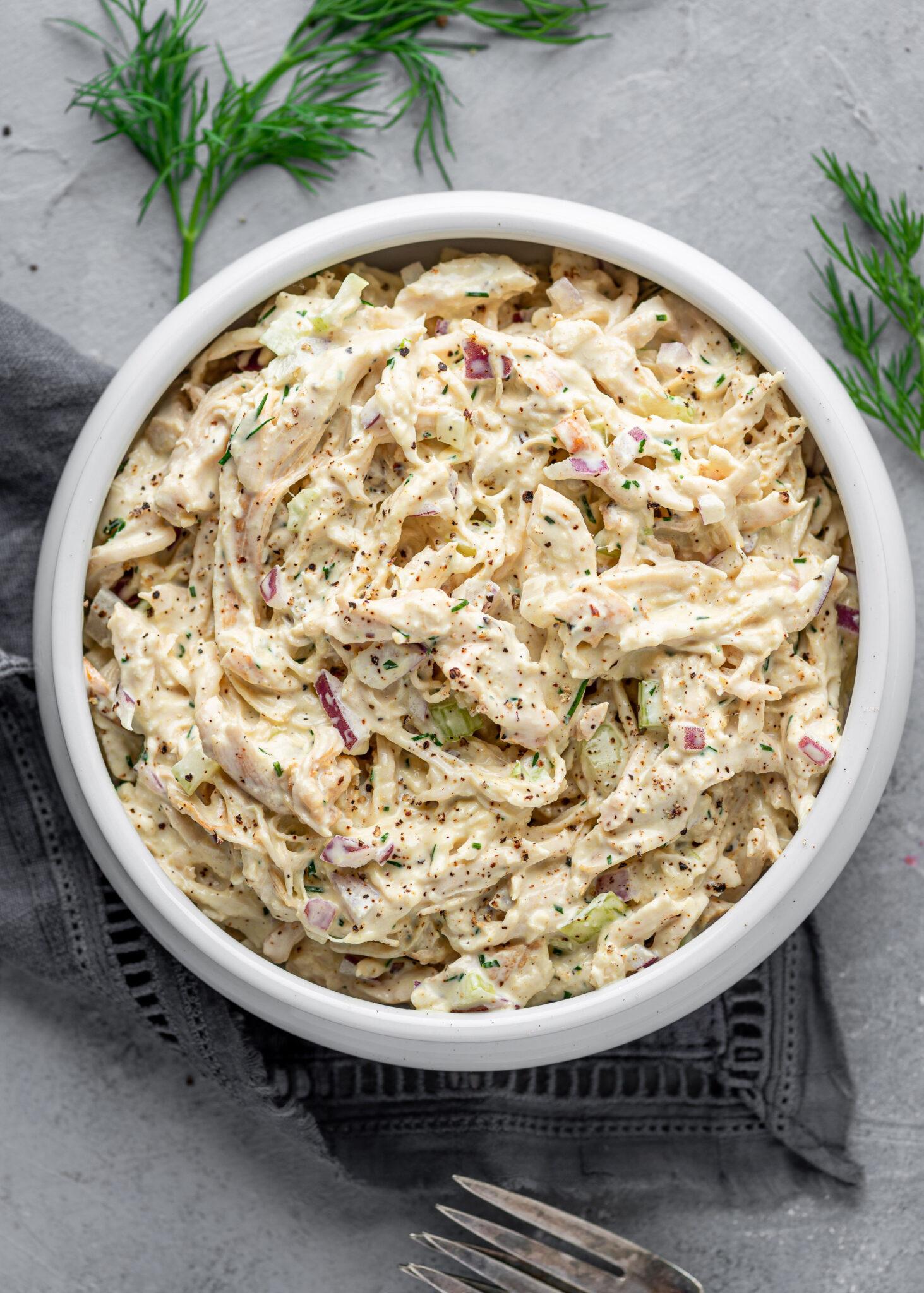 keto chicken salad Creamy Keto Chicken Salad