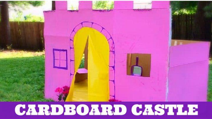 cardboard box house Cute Cardboard Castle