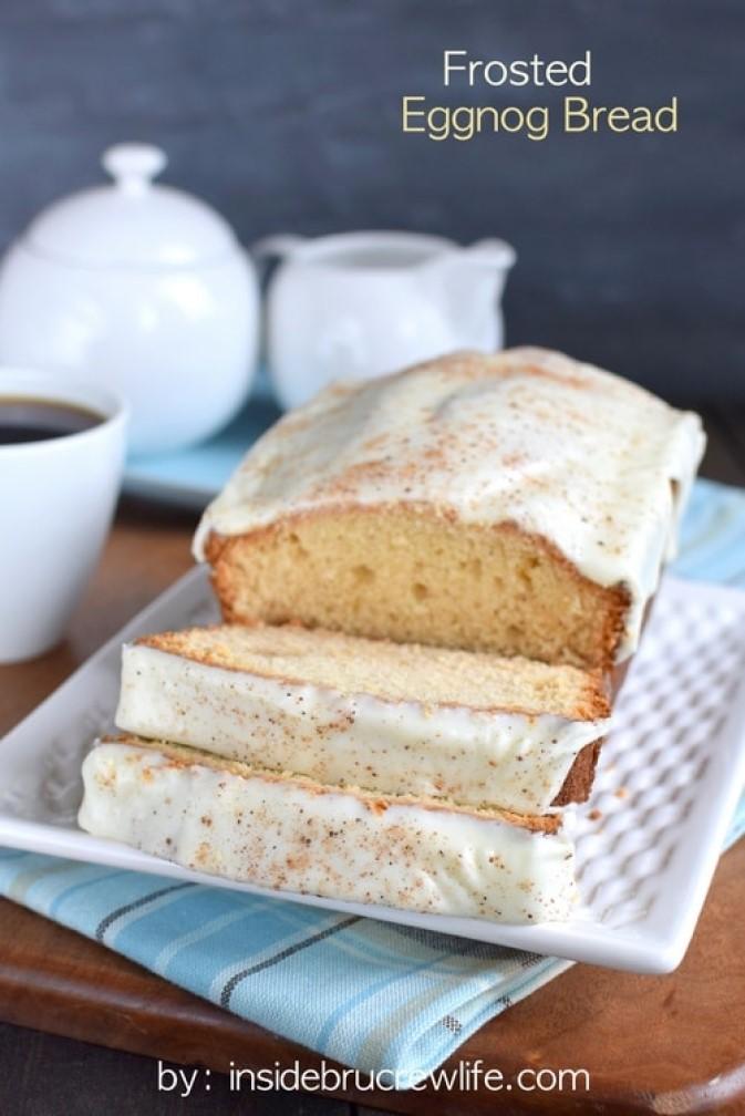 Delicious Eggnog Sweet Bread