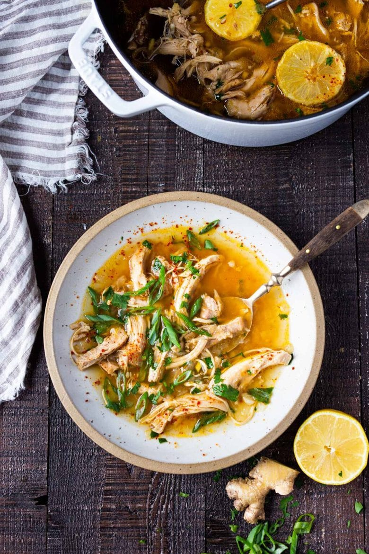 chicken soup Feel Better Chicken Soup