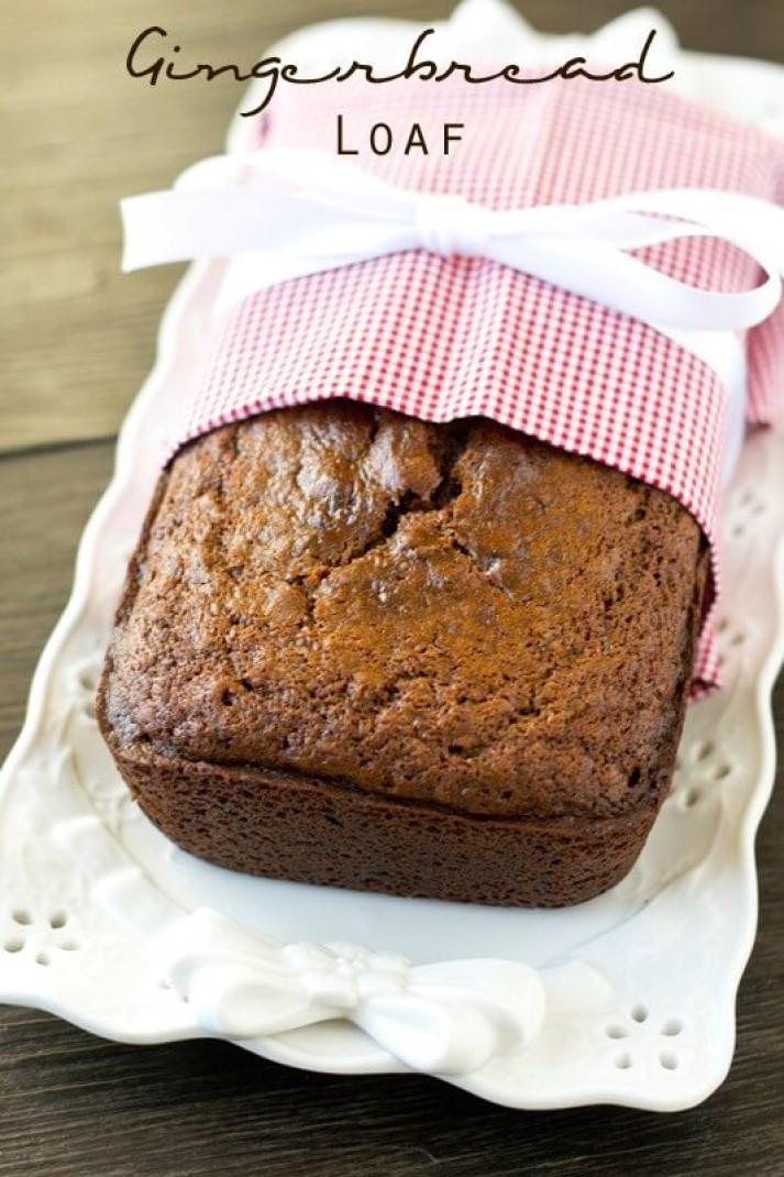 Gingerbread sweet bread