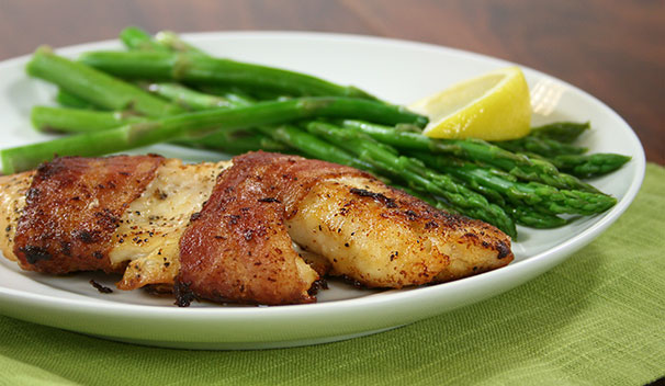 grilled tilapia https://www.sugardale.com/recipes/bacon-wrapped-tilapia