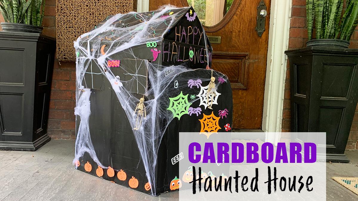 cardboard box house Haunted Cardboard Box Home