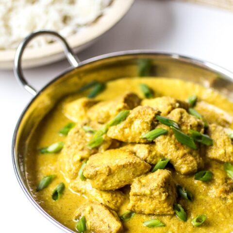 Indian Chicken Korma