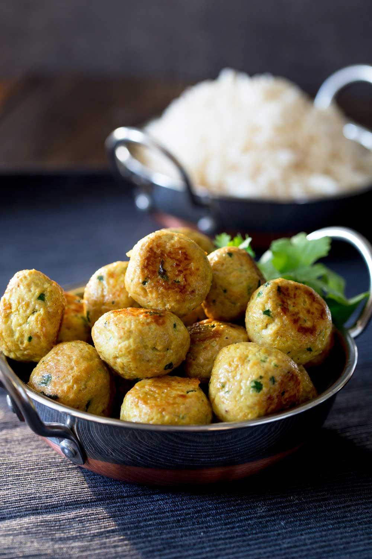 Indian Chicken Meatballs