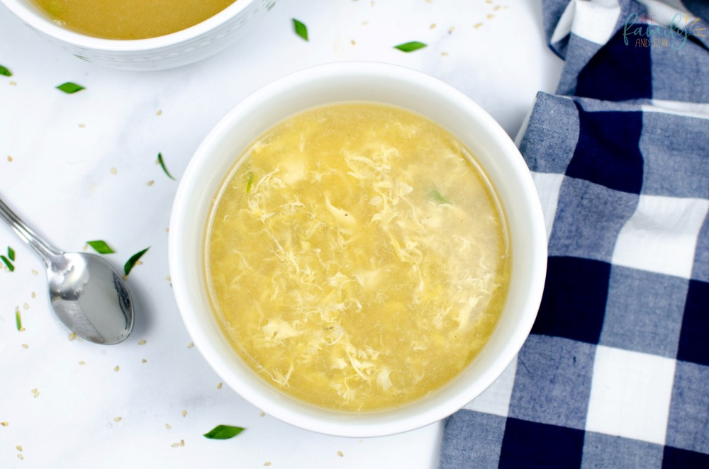 Delicious Instant Pot Egg Drop Soup