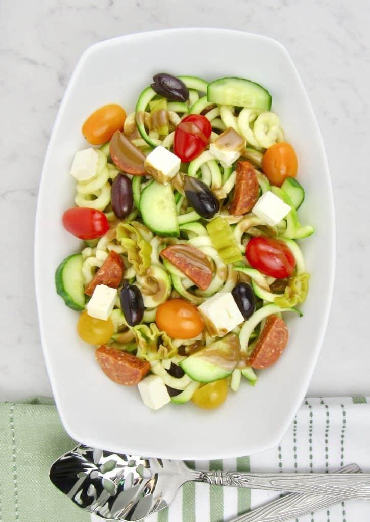 keto pasta salad