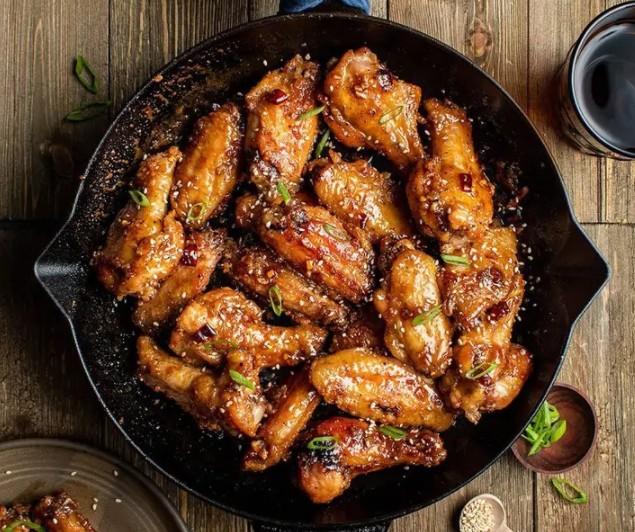 sesame chicken Korean Sticky Sesame Wings
