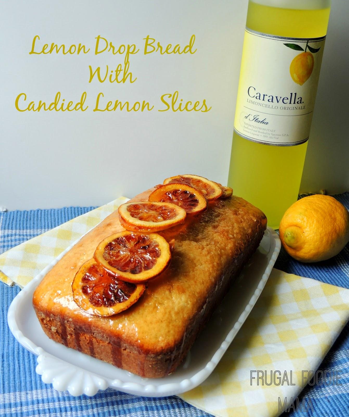 Lemon Drop Sweet Bread