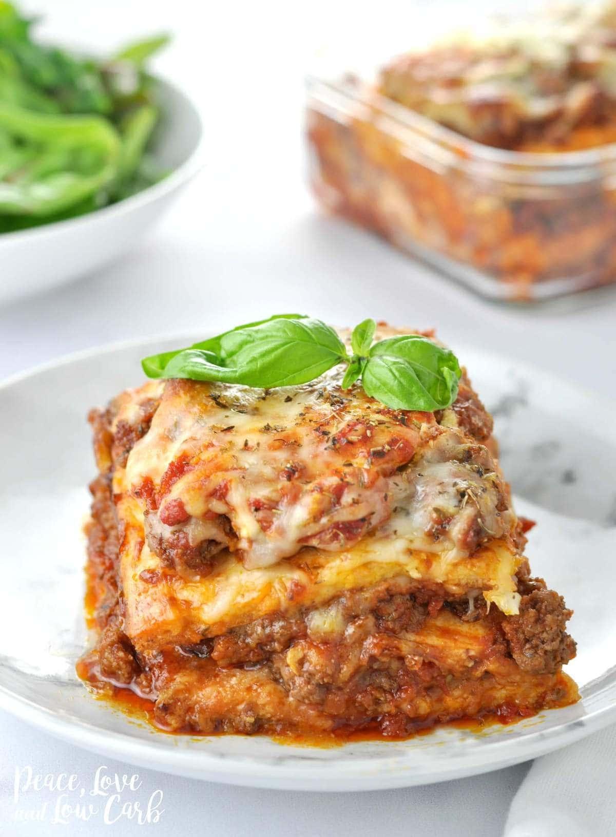 keto pasta Low Carb Lasagna