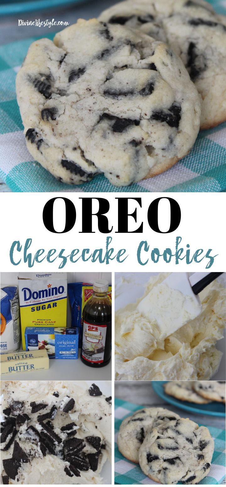 oreo desserts Oreo Cheesecake Cookies