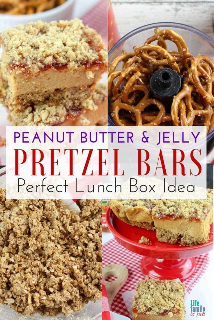 There's no denying the flavorful duo of peanut butter & jelly. You haven't tasted anything yet until you've tried these Peanut Butter & Jelly Pretzel Bars.