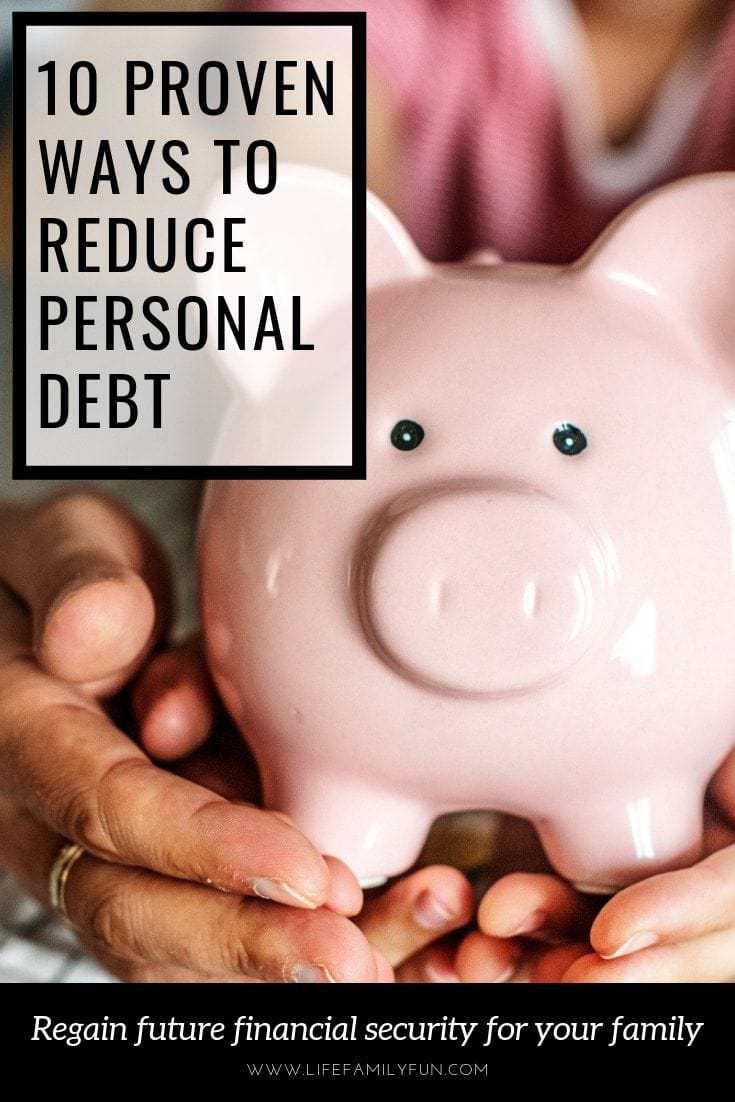 WAYS TO REMOVE PERSONAL DEBT