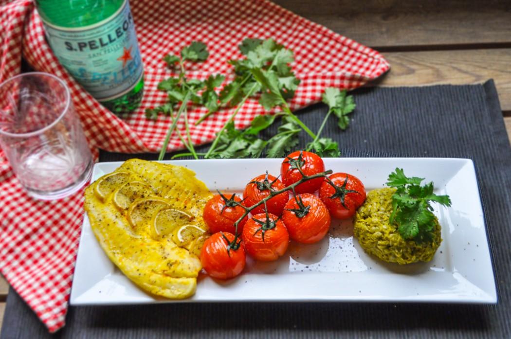 grilled tilapia Saffron Lime Tilapia Filet