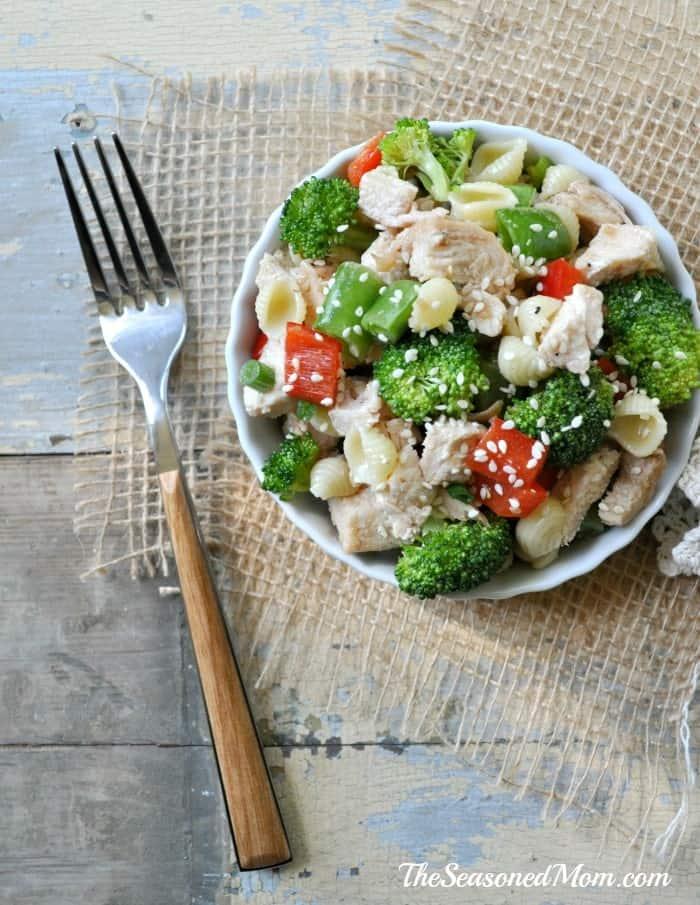 sesame chicken Sesame Chicken Pasta Salad