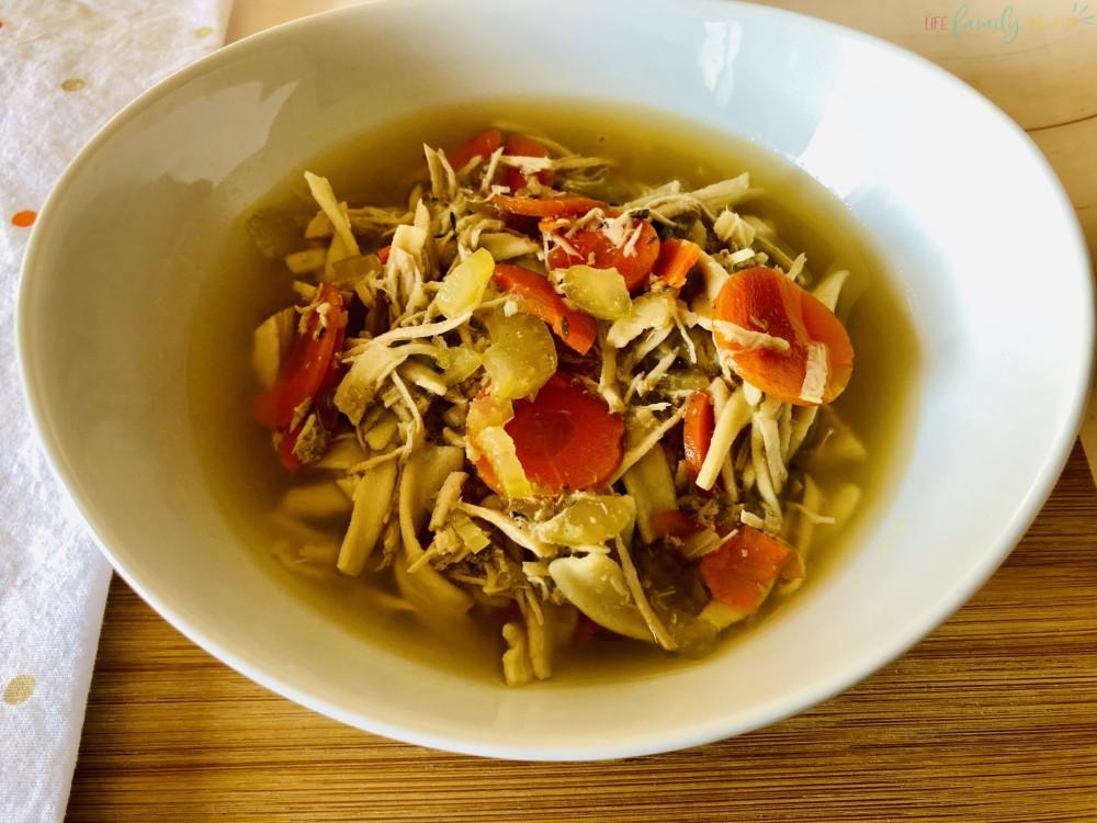 chicken noodle soup recipe slow cooker