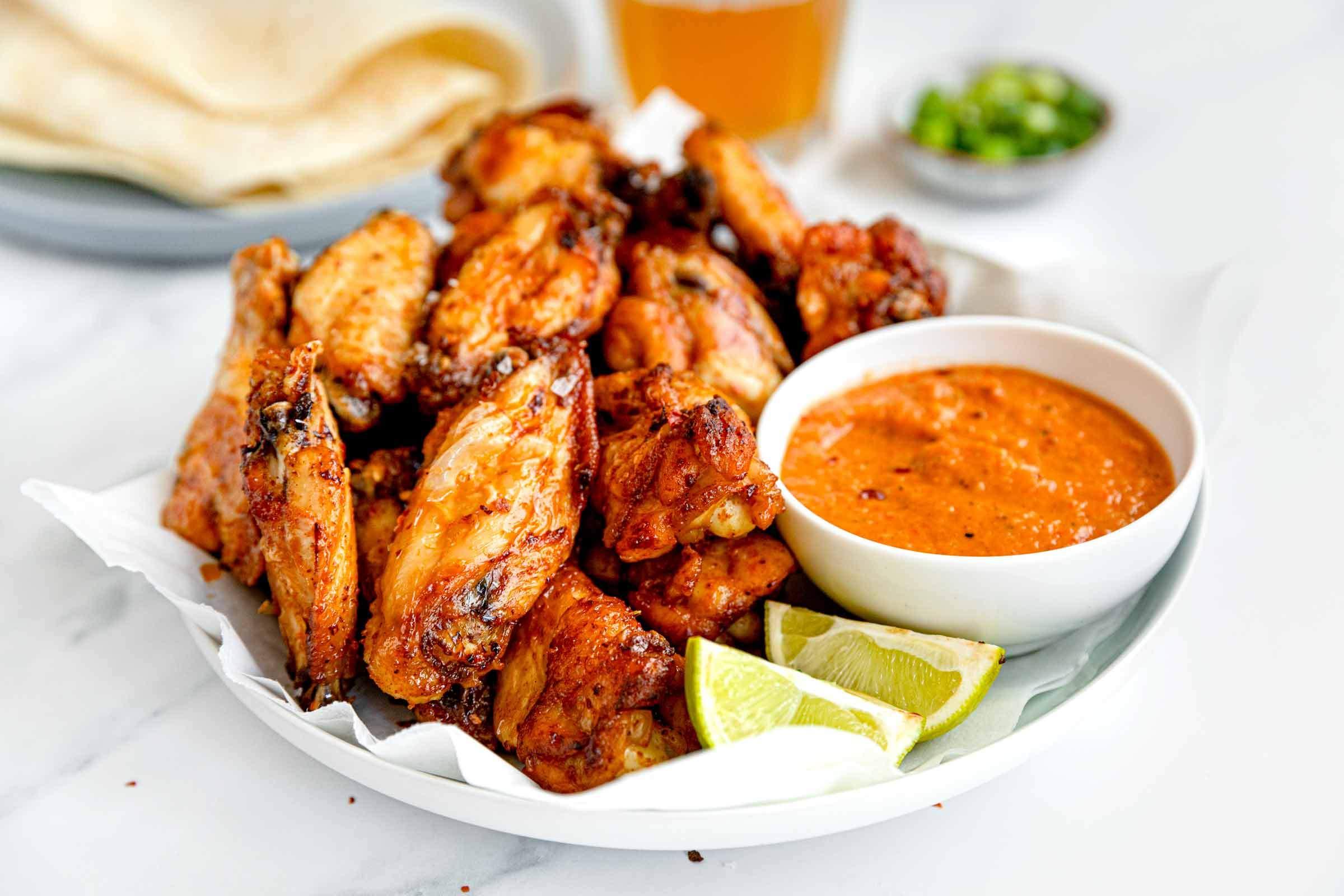 Smoked Paprika Chicken Wings
