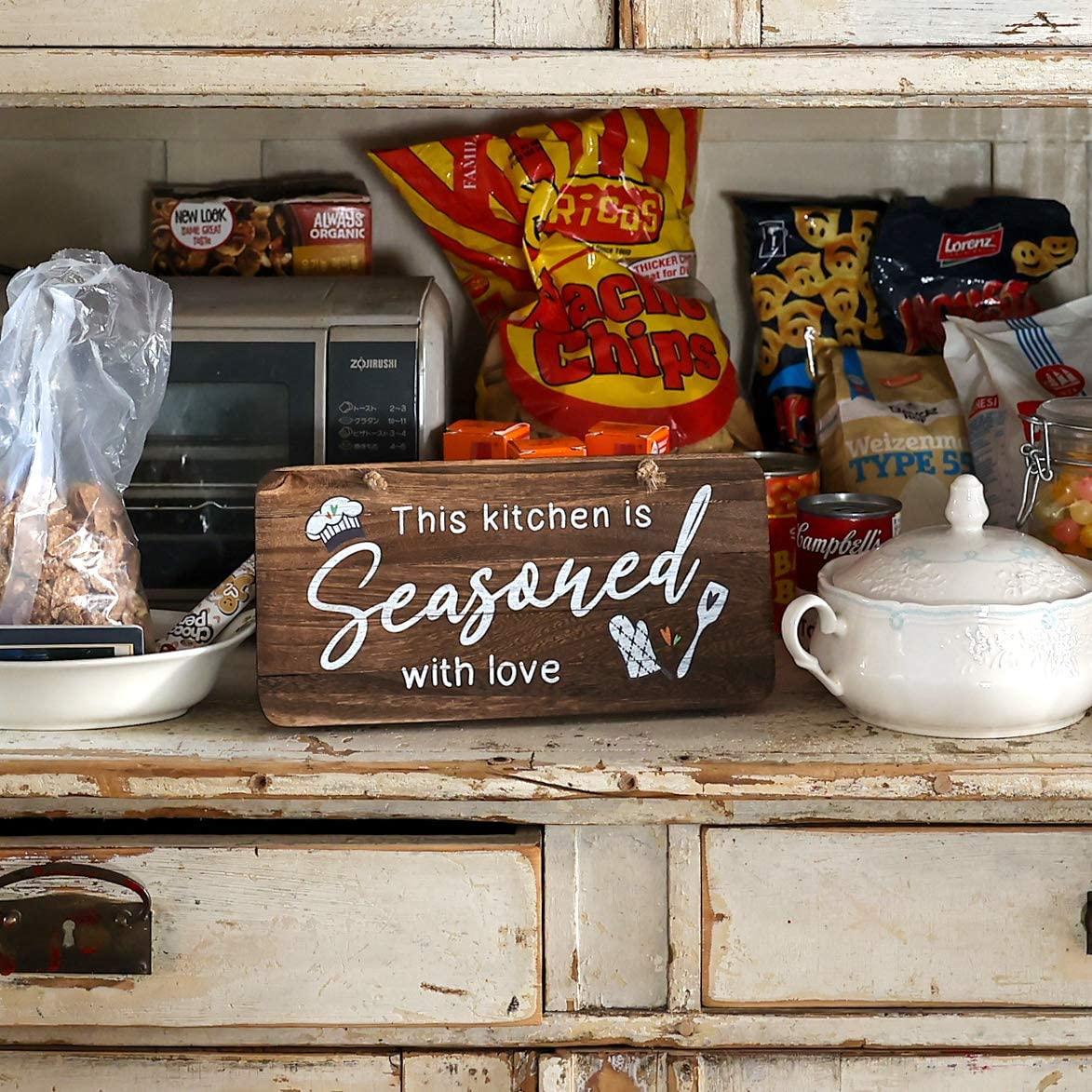 30 Farmhouse Kitchen Wall Decor Ideas