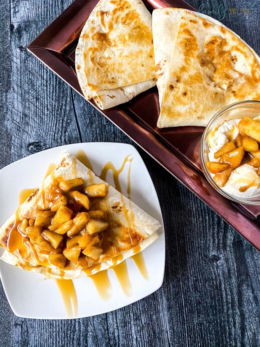 Tortilla Apple Pie Recipe