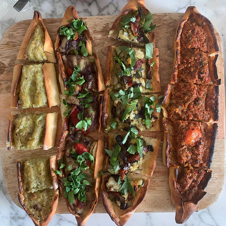 Vegan Turkish Pide Recipe