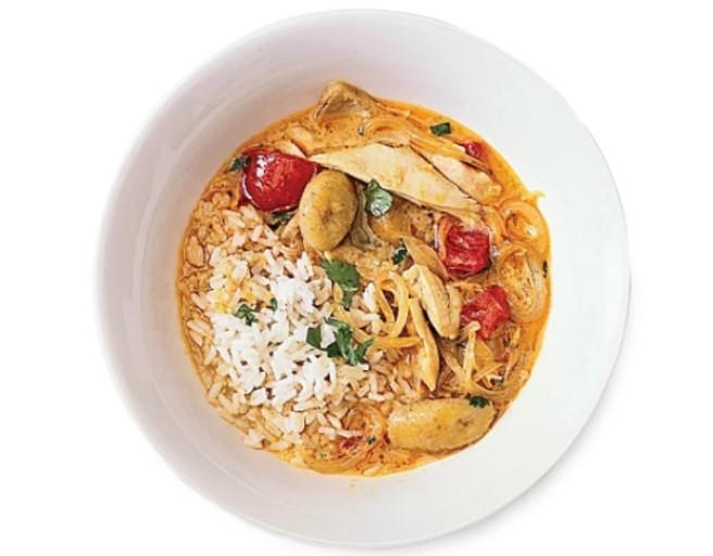 chicken soup West African Chicken Soup