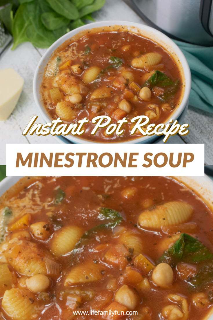 Minestrone Soup Recipe in the Instant Pot