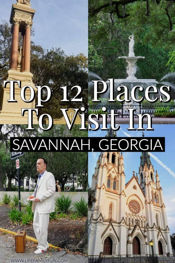 Top places to visit in savannah georgia